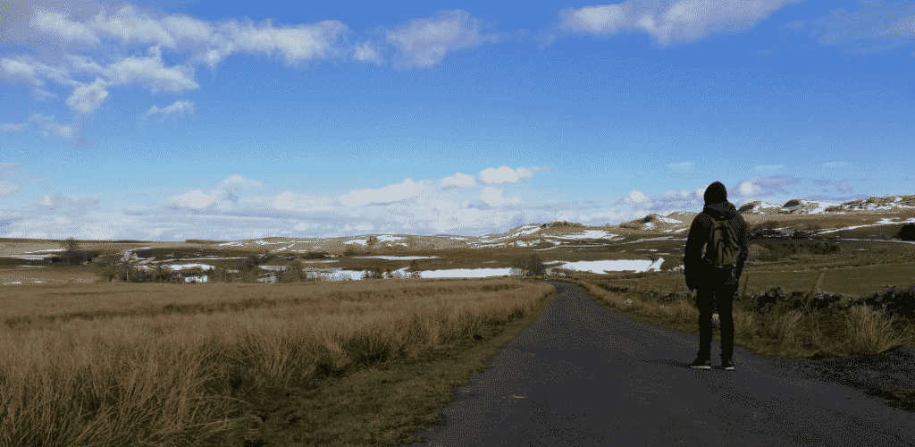 Road Trip UK Northumberland Mountains Snow