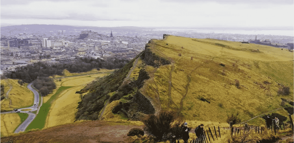 Road Trip UK Scotland Edinburgh Arthurs Seat
