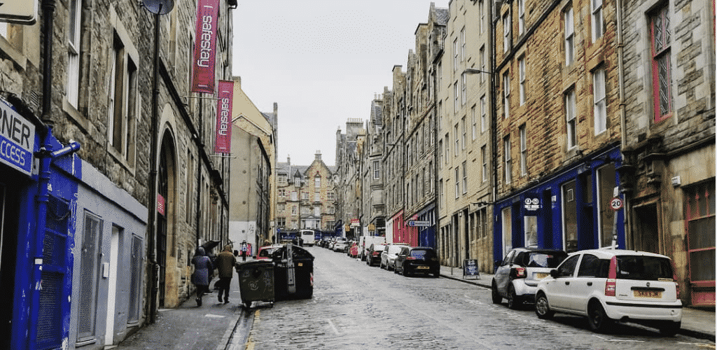 Road Trip UK Scotland Streets of Edinburgh