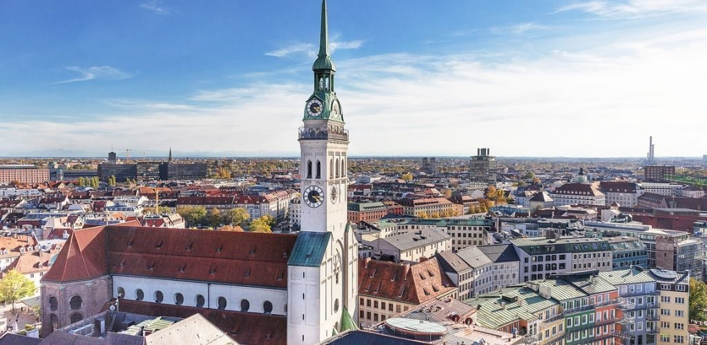 One Day in Munich St Peter Church